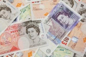 Die Währung in England ist das Britische Pfund Sterling