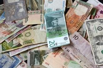 Übersicht über die Währungen Weltweit