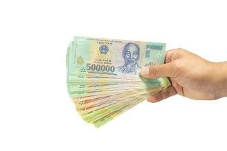 Die Währung von Vietnam ist der Dong