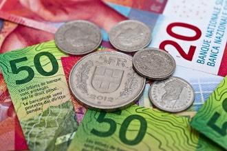 Die Währung der Schweiz ist der Schweizer Franken