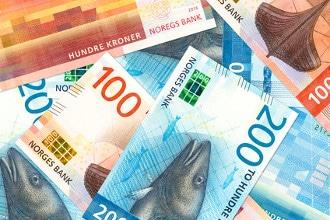 Die Währung von Norwegen ist die norwegische Krone