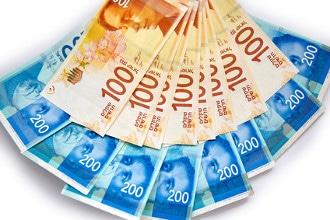 Die offizielle Währung von Israel ist der Schekel