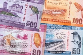 Die Währung von Sri Lanka ist die Sri-Lanka-Rupie