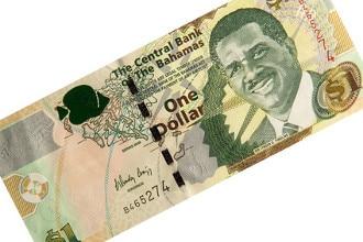 Die Währung der Bahamas ist der Bahama-Dollar